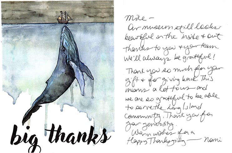 Thank you from The Whaling Museum11-2020